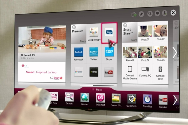 Sette opp LG Smart TV