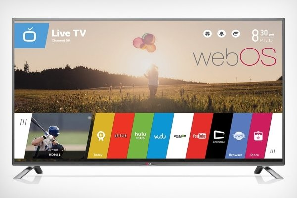 WebOS on LG TV