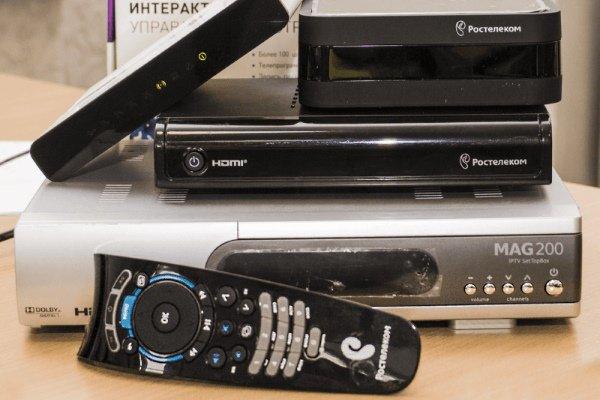 أجهزة استقبال IPTV من Rostelecom