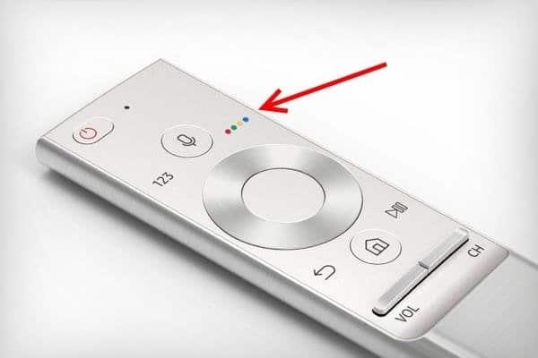 सैमसंग टीवी रिमोट पर बटन