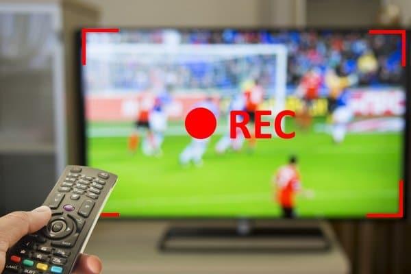 एक टीवी से वीडियो रिकॉर्डिंग