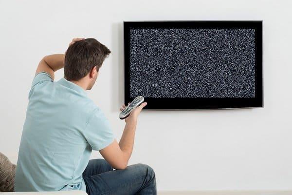 TV'nin bozulması