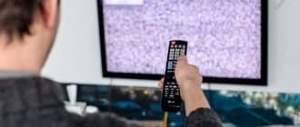 отсутствия цифрового телевидения