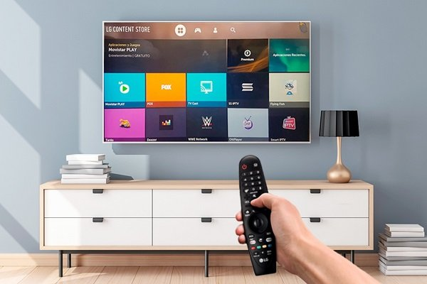 LG Smart TV'de göz kırpın