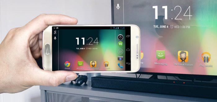 Sådan tilsluttes din telefon til et Samsung TV