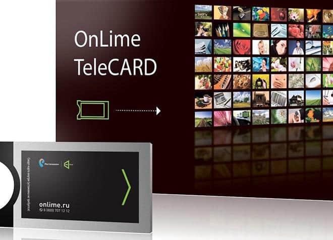 Telecard Onlime - nodweddion a chost, gosod offer