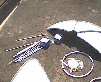 偏置和直接聚焦卫星天线:差异和调谐