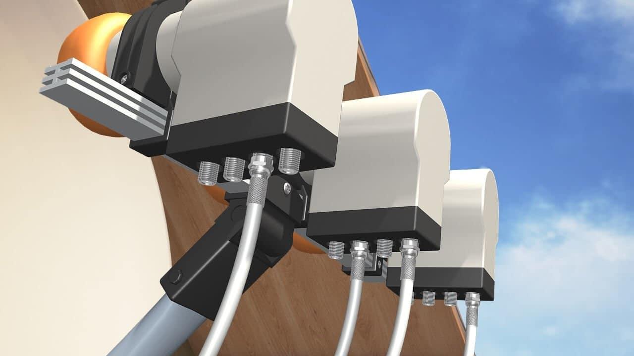 卫星天线的自行安装和配置