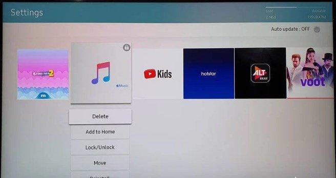 Cách gỡ cài đặt ứng dụng khỏi Samsung Smart TV