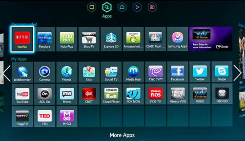 Aplicaciones gratuitas para Smart TV Android - Golden 30